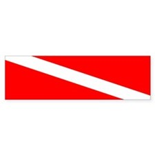Diver Down Bumper Sticker (50 pk)