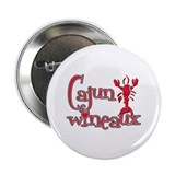 "Cajun Wineaux crawfish red 2.25"" Button (10 pack)"