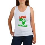 Save Sangala Women's Tank Top