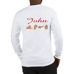 John (Back) Long Sleeve T-Shirt