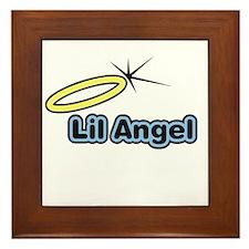 Little Angel Framed Tile