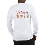 Mark (Back) Long Sleeve T-Shirt