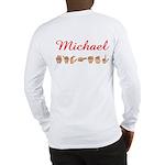 Michael (Back) Long Sleeve T-Shirt