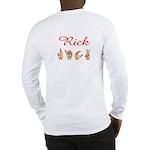 Rick (Back) Long Sleeve T-Shirt