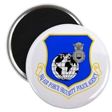 HQ Security Police Magnet