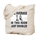 INTELLIGENCE/I.Q. Tote Bag