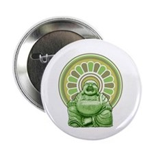 "Laughing Buddha 2.25"" Button"