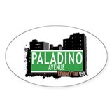 PALADINO AVENUE, MANHATTAN, NYC Decal