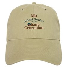 Mia - Obama Generation Baseball Cap