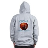 Obama Supports Dietitians Zip Hoody
