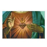 Sacred Heart 2 Postcards (Package of 8)