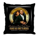 Inauguration - Change Throw Pillow