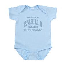 Property of Wasilla Athletic Infant Bodysuit