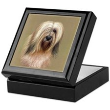 Tibetan Terrier Keepsake Box
