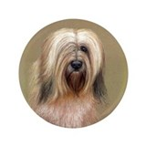 "Tibetan Terrier 3.5"" Button"