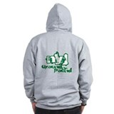 NYJ - Ground-n-pound. Zip Hoodie