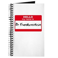 My Name Is Dr Frankenstein Journal