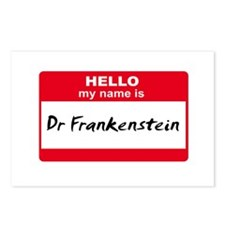 My Name Is Dr Frankenstein Postcards (Package of 8