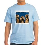 "Dog T-Shirt - ""Irish Setters - B3"""