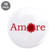 "Amore 3.5"" Button (10 pack)"