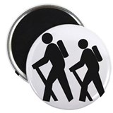 "Hiking2 2.25"" Magnet (10 pack)"