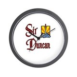 Sir Duncan Wall Clock