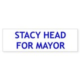 Stacy Head for Mayor Bumper Sticker (10 pk)