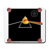 Duck Side of the Moon Black Mousepad