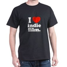 I Love Indie Film T-Shirt