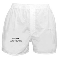 Dry-hump on the first date Boxer Shorts