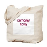 DIETICIANS  ROCK Tote Bag