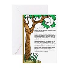 Apostles' Creed Tree of Life Greeting Cards (Pk of