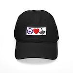 Peace Love & Joystick: Black Cap