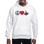 Peace Love & Joystick: Hooded Sweatshirt