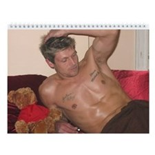 2009 model Shawn Kennedy Wall Calendar for