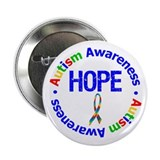 "Autism Hope 2.25"" Button"