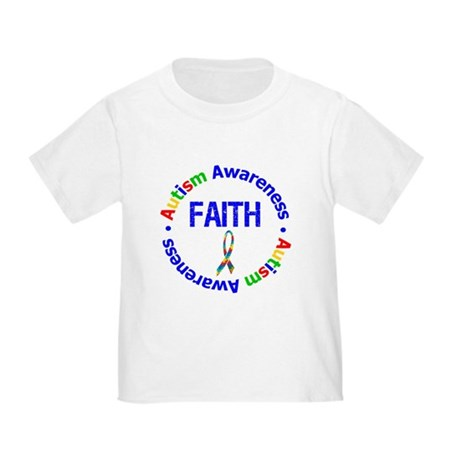 Autism Faith Toddler T-Shirt