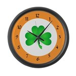 Irish Clocks Large Wall Clock