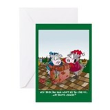 Call Santa? (Xmas Greeting Cards - 10 Pk)