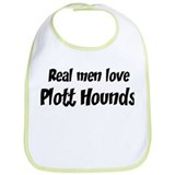 Men have Plott Hounds Bib