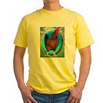 Broiler Opal Chicken Yellow T-Shirt