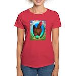 Broiler Opal Chicken Women's Dark T-Shirt