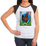 Broiler Opal Chicken Women's Cap Sleeve T-Shirt