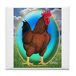 Broiler Opal Chicken Tile Coaster