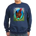 Broiler Opal Chicken Sweatshirt (dark)