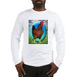 Broiler Opal Chicken Long Sleeve T-Shirt