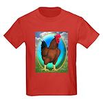 Broiler Opal Chicken Kids Dark T-Shirt