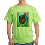 Broiler Opal Chicken Green T-Shirt