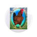 """Broiler Opal Chicken 3.5"""" Button (100 pack)"""