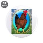 """Broiler Opal Chicken 3.5"""" Button (10 pack)"""
